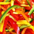 Colorful pepper slices — Stock Photo #2048971