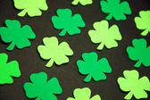 Decorative green clovers — Foto Stock