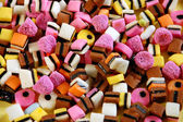 Licorice candy mix — Stock Photo