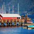 Stock Photo: Winter Harbor