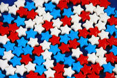 Candy stars — Stock Photo