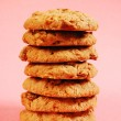 Stock Photo: Oatmeal raisin cookies
