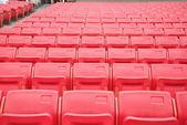 Arena seats — Stock Photo