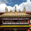 Stock Photo: Tibettemple roof