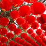 Red lanterns — Stock Photo #2195913