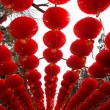 red lanterns — Stock Photo
