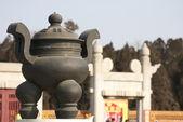 Historic Chinese incense burner — Stock Photo