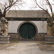 Historic Chinese door - Stock Photo