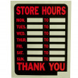 Business hours sign — Stock Photo #2237283