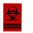 Biohazard sign isolated on white — Stock Photo