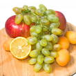 This is a close-up group of fruits. — Stock Photo