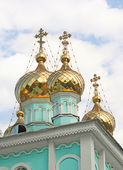 Russian church st. Nikolas — Stock Photo