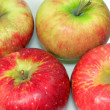 Group of red apples — Stock Photo #2031082