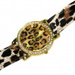Luxury woman wristwatch — 图库照片
