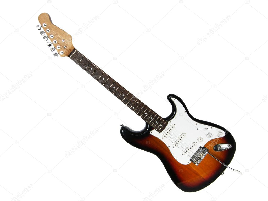 Guitar isolated  Stock Photo #2072114
