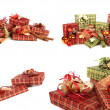 Gorgeous christmas presents - Stock Photo