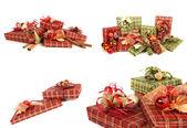 Underbara julklappar — Stockfoto