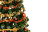 Christmas tree with copy space — Stockfoto