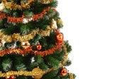 Julgran med kopia utrymme — Stockfoto