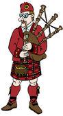 Scotsman — Stock Vector