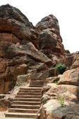 Rock-cut Steps — Stock Photo