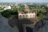 Aerial View of Masjid — Foto Stock