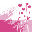 Vector de stock : Valentine's day abstract