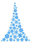 Abstract christmas tree - simple drawing — Vector de stock