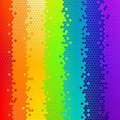 矢量抽象背景彩虹 — 图库矢量图片