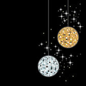 Disco sphere - vector — Stock Vector