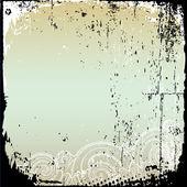 Grunge 帧和边境系列 — 图库矢量图片
