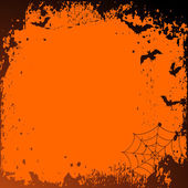 Halloween background with place for your — Vector de stock
