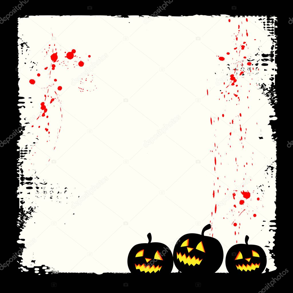 Halloween background with place for your text — Stock Vector #2037437