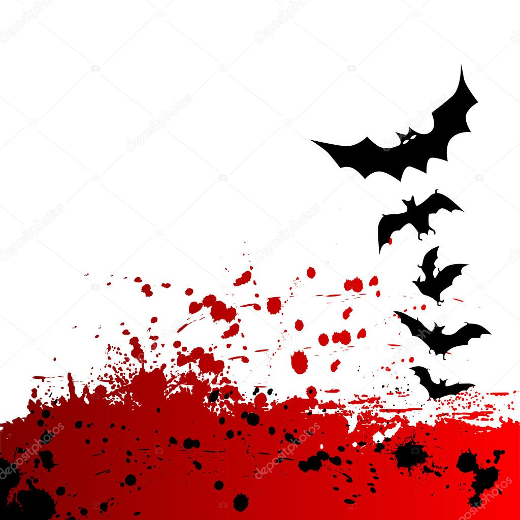 Halloween background with place for your text  Stock Vector #2037505