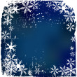 Stock Vector: Winter background, snowflakes - vector i