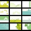Royalty-Free Stock Imagen vectorial: Business card - vector collection