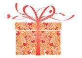 风格化礼品-矢量 — 图库矢量图片