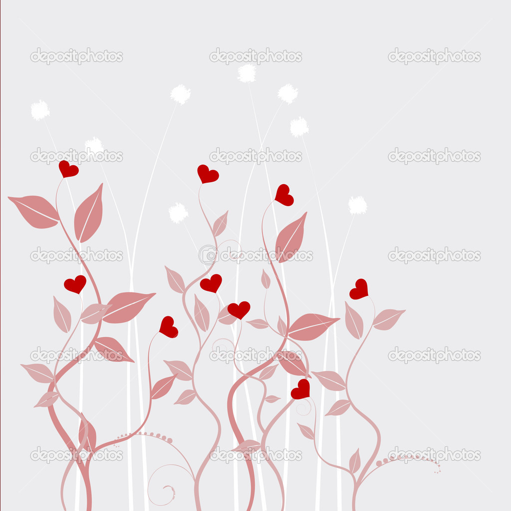 Valentine's day abstract  Stock Vector #2055303