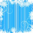 Winter background, snowflakes — Stock Vector #2472450