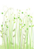 Floral background, meadow, garden — Stock Vector