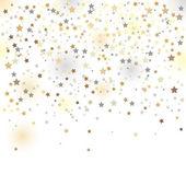 Confetti, vector illustration — Stock Vector