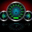 Stock Vector: Speedometer Vector