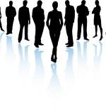 Business Team (Vector) — Stock Vector
