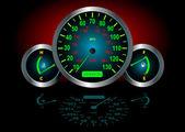 Hız göstergesi vektör — Stok Vektör