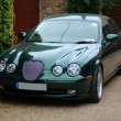 Stock Photo: Jaguar S Type