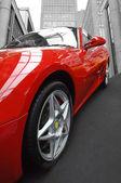 Italiensk sportbil — Stockfoto
