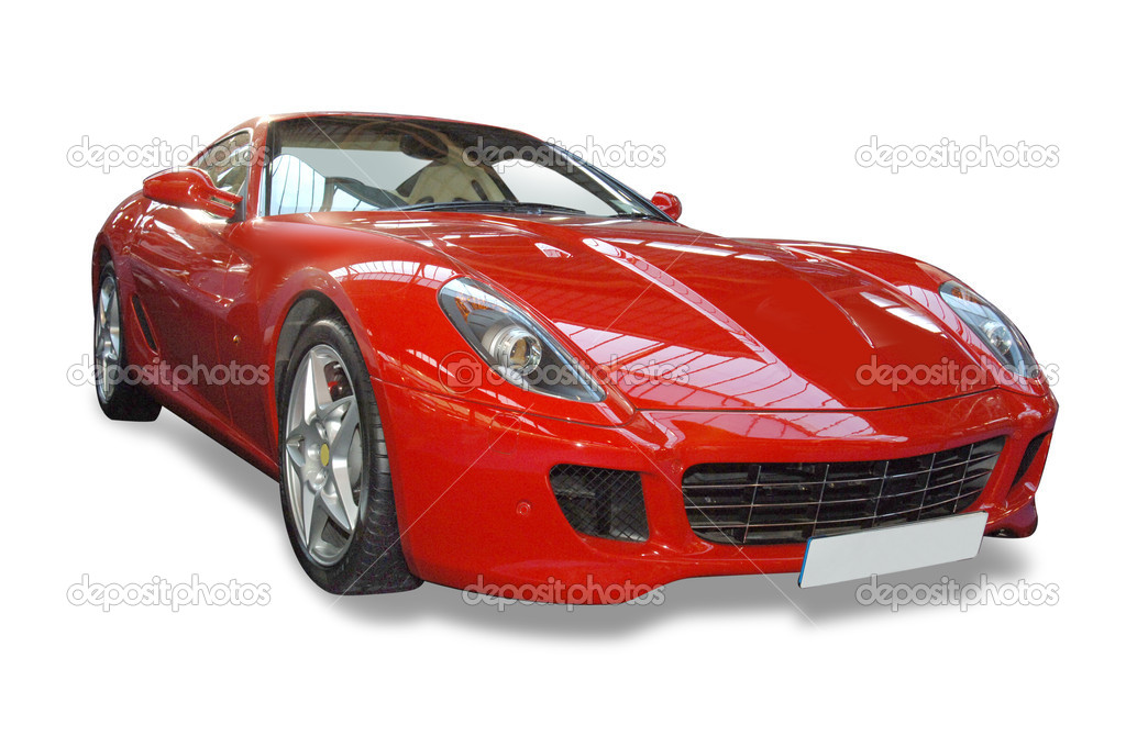 Italian Sports Car  Stock Photo #2019177