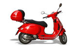 Vespa — Vector de stock