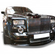 Stock Photo: Luxury Rolls Marque