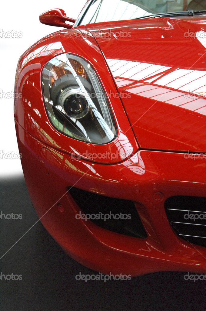Very fast Italian Sports Car — Stock Photo #2061622